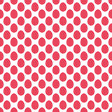 Nahtloses Muster der Ostereier Lizenzfreie Stockfotografie
