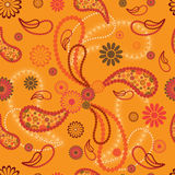 Nahtloses Muster der Paisley-Art Stockfoto