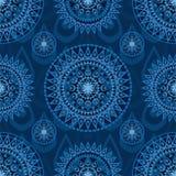 Nahtloses Muster der Pfeilwaffen-Mandala Stockfoto