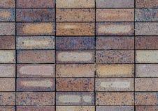 Nahtloses Muster der quadratischen Ziegelsteinfliese Lizenzfreie Stockfotos
