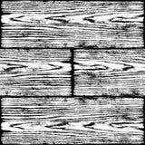 Nahtloses Muster der realistischen hölzernen Beschaffenheit vektor abbildung