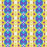 Nahtloses Muster in der Retro- Art Stockbilder