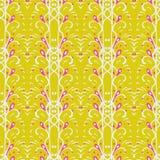 Nahtloses Muster in der Retro- Art Lizenzfreies Stockbild