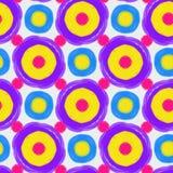 Nahtloses Muster in der Retro- Art Stockfotografie