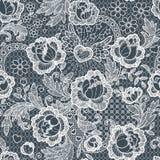 Nahtloses Muster der Rosen spitze lizenzfreie abbildung