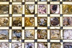 Nahtloses Muster der Schätzcheneule Stockfoto