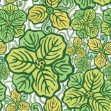 Nahtloses Muster der schönen Blume Stockbild