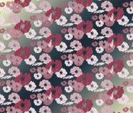 Nahtloses Muster der schönen Rosen-Weinlese Lizenzfreies Stockbild