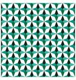 Nahtloses Muster der Smaragdgeometrie Zusätzliches vektorformat stock abbildung