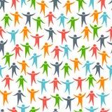 Nahtloses Muster der Social Media-Leute Lizenzfreie Stockfotografie
