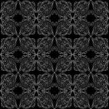 Nahtloses Muster der Spitzes Stockfotografie