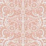 Nahtloses Muster der Spitzes mit Blumen Stockbilder