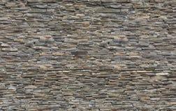 Nahtloses Muster der Steinwand des braunen Ziegelsteines Lizenzfreies Stockfoto