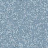 Nahtloses Muster der stilisiert Zweige Lizenzfreie Stockbilder
