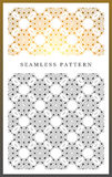 Nahtloses Muster der Symmetrie lizenzfreie abbildung