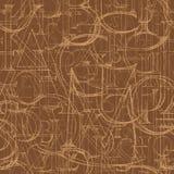 Nahtloses Muster der Tapete mit modernem Roman Classic Alphabet Stockfotografie