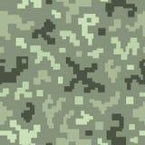 Nahtloses Muster der Tarnung. Stockfoto