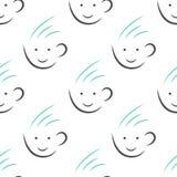 Nahtloses Muster der Teecup Stockfotografie