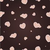 Nahtloses Muster der Valentinsgrüße Lizenzfreie Stockbilder
