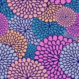 Nahtloses Muster der Varicoloured Blume vektor abbildung