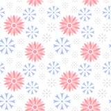 Nahtloses Muster der Vektorblumen-Kornblume Lizenzfreie Abbildung