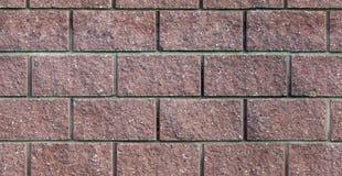 Nahtloses Muster der Ziegelsteine Stockfotos