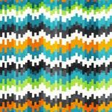 Nahtloses Muster des abstrakten Entzerrers Lizenzfreie Stockbilder