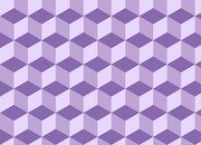 Nahtloses Muster des abstrakten geometrischen Dreiecks Stock Abbildung