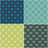 Nahtloses Muster des abstrakten Hintergrundes vektor abbildung