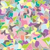 Nahtloses Muster des abstrakten Mustermosaiks Stockfotografie