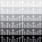 Nahtloses Muster des abstrakten Pfeilhintergrundes Stockfotos