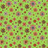 Nahtloses Muster des abstrakten Sommers Lizenzfreies Stockbild
