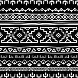 Nahtloses Muster des abstrakten Streifenvektors Lizenzfreie Stockfotografie