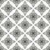 Nahtloses Muster des abstrakten Vektors in der modernen Art. Stockfotos
