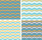 Nahtloses Muster des abstrakten Vektors mit Linien Hintergrund stock abbildung