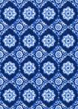 Nahtloses Muster des Aquarellkönigsblau-Velours Lizenzfreie Stockfotos