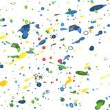 Nahtloses Muster des Aquarells Stockbild