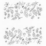 Nahtloses Muster des Aquarells Stockbilder