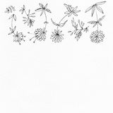 Nahtloses Muster des Aquarells Lizenzfreies Stockbild