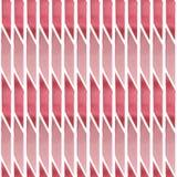 Nahtloses Muster des Aquarells von den grafischen Elementen der rosa Farbe stock abbildung