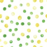 Nahtloses Muster des Aquarellvektors Nahtloses Muster kann für Tapete, Musterfüllen, Webseitenhintergrund benutzt werden Lizenzfreies Stockbild