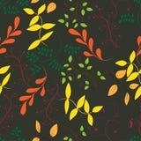 Nahtloses Muster des Baums stock abbildung