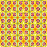 nahtloses Muster des Blick-70s Lizenzfreie Stockbilder
