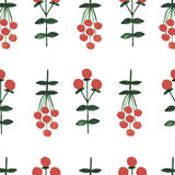 Nahtloses Muster des Blumenaquarells Lizenzfreies Stockfoto