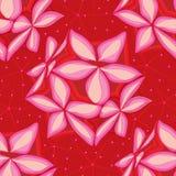 Nahtloses Muster des Blumensternlaternen-Sternes Lizenzfreie Stockfotografie