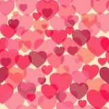 Nahtloses Muster des Boche-Herzformliebes-Symbols Stockfotos