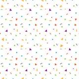 Nahtloses Muster des bunten Funkelnverbreitungs-Vektors Lizenzfreies Stockfoto