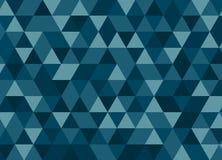 Nahtloses Muster des bunten geometrischen Dreiecks Abstraktes Vektorba Lizenzfreie Abbildung