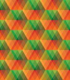 Nahtloses Muster des bunten Glasvektorzusammenfassungs-Mosaiks lizenzfreie stockbilder