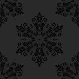 Nahtloses Muster des Damastes entziehen Sie Hintergrund Stockbilder